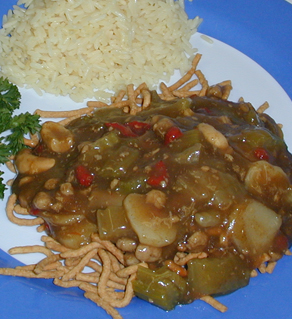 Roger's CHOW MEIN with Chicken & Pork
