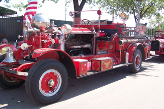 our firetrucks in State Fair parade